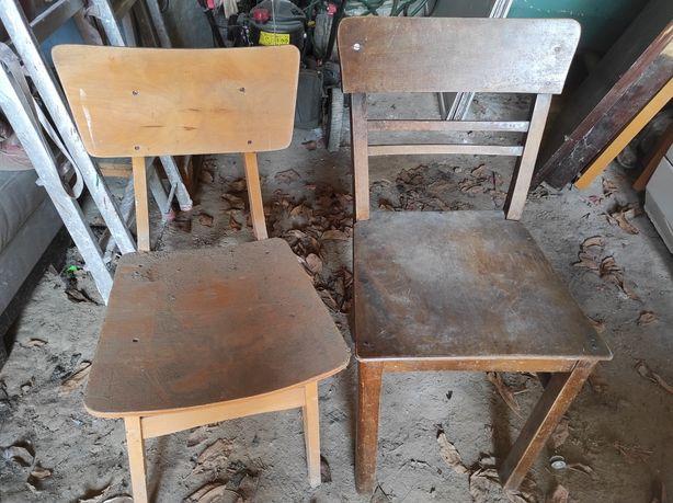 Krzesło stare drewniane antyk retro krzesła 6