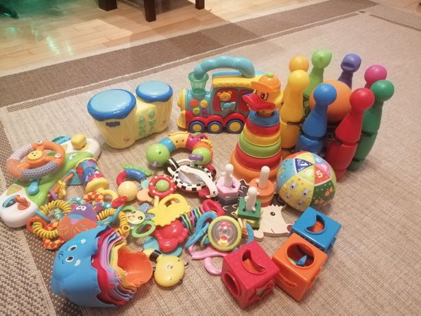 Zabawki zestaw dla malucha