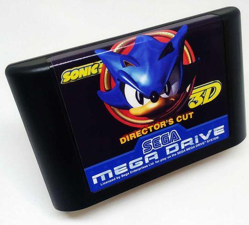 Sonic 3D Director's Cut - Mega Drive REPRO ALTA QUALIDADE