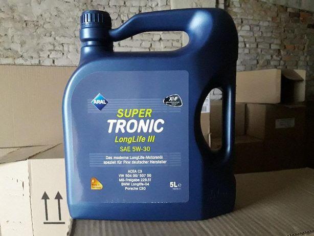 Масло моторное синтетическое Aral SuperTronic Longlife III 5W-30 (20л)