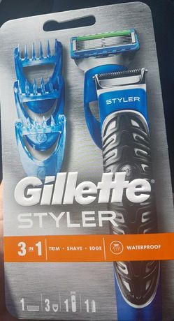 Gillette Styler 3in1 gratis 3szt ostrza Fusion