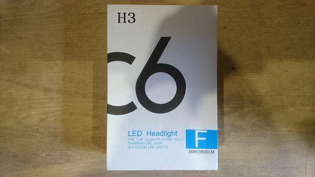 Диодные лампы Led lamp C6 цоколь H3