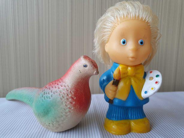 Резиновые игрушки из СССР