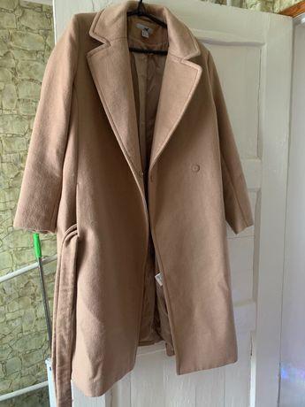Пальто тёплое, шерстяное