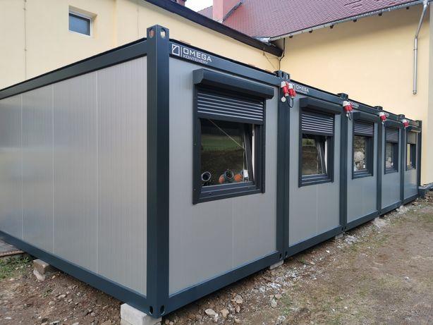 Kontener biurowy kontener budowlany stróżówka