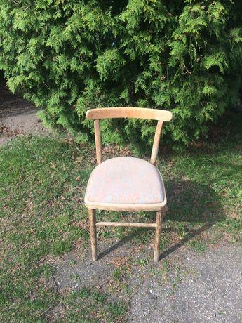 Krzesło Tapicerowane z PRL