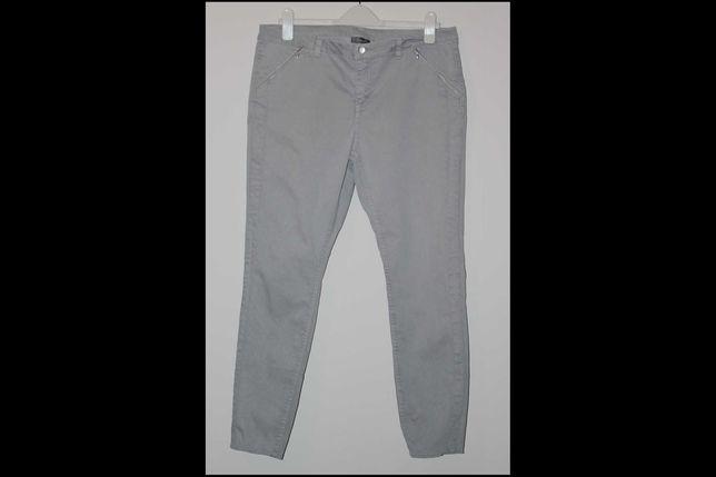 44 spodnie damskie C&A Yessica XL szare NOWE