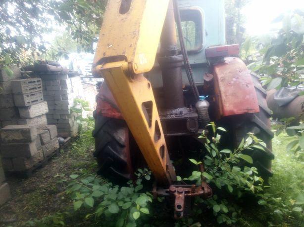 Прод.трактор Т40 с погруз.краном и прицепом