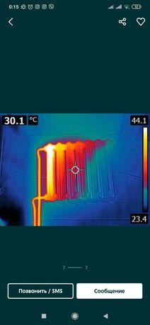 Проверка дома на тепло потери и електро