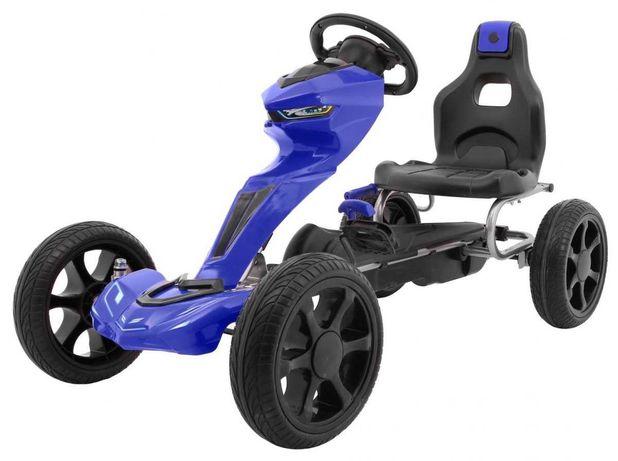 Gokart Grand Ride Niebieski