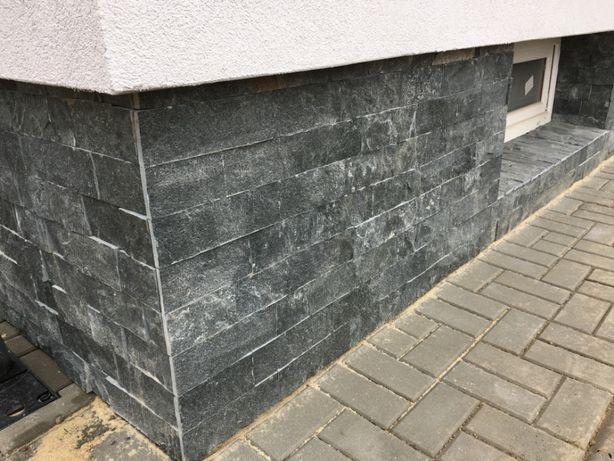 Kamień elewacyjny naturalny Black