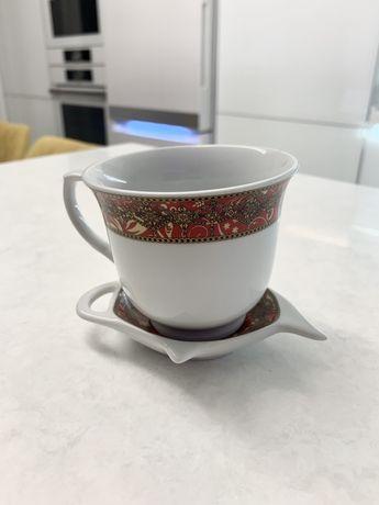 Продам чайный комплект - чашка и пиалка