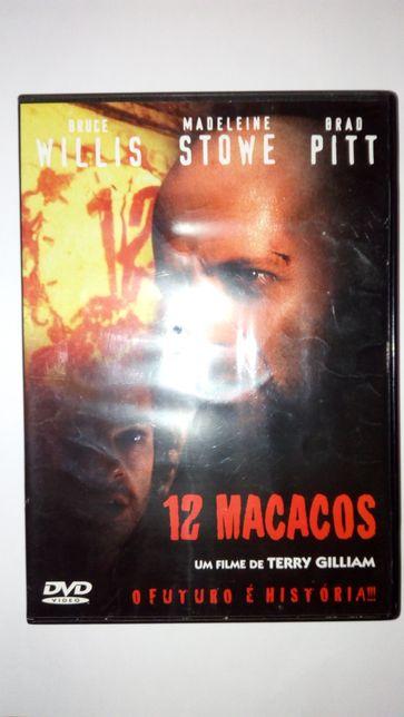 DVD: 12 Macacos, Os condenados de Shawshank, Se7en