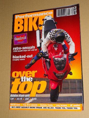 Revistas de motos estrangeiras