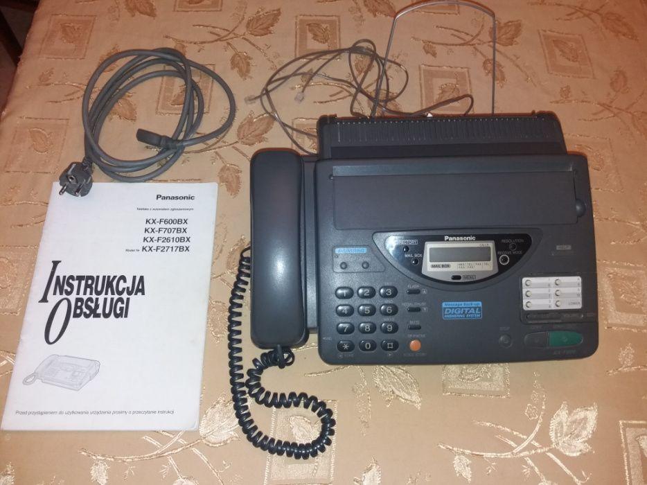 Telefon/fax Panasonic KX-F600/bdb stan Gdańsk - image 1