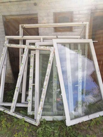Okna używane kpl