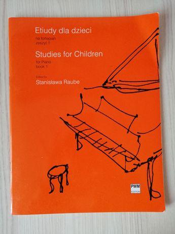 etiudy dla dzieci na fortepian zeszyt 1