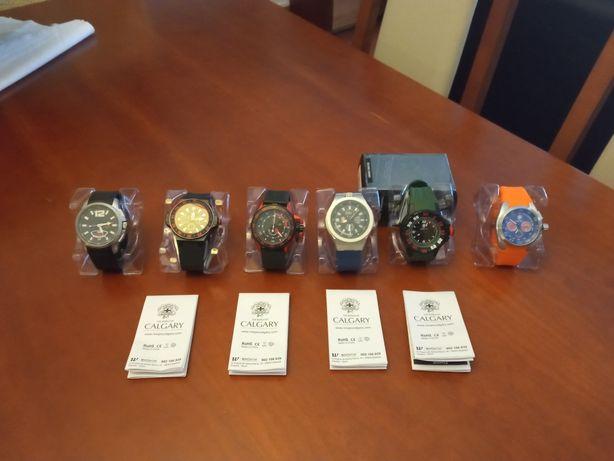 Vendo coleção de seis relógios Calgary não aceito vender por MBWAY