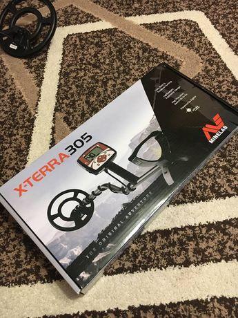 X-Terra 305 Металошукач,в користуванні був 2 рази є дійсна гарантія