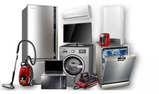 Срочный ремонт стиральных машин,посудомоек,бойлеров и холодильников.