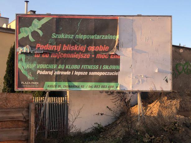 Reklama konstrukcja 3 x 5 metrów sprzedam Kielce