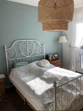 Łóżko Ikea Leirvik 140x200 cm białe