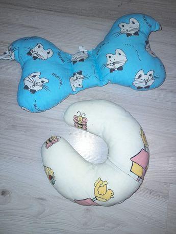 Poduszki dla dzieci rogal i motylek