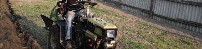 Мини трактор с мотоблока