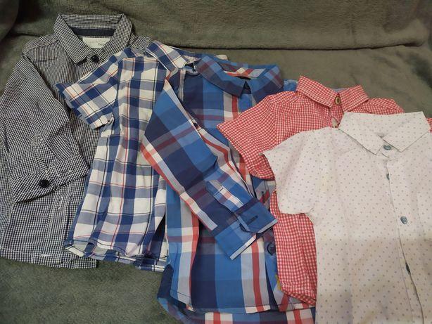 Рубашки на 12-18мес 80-86см (одним лотом)