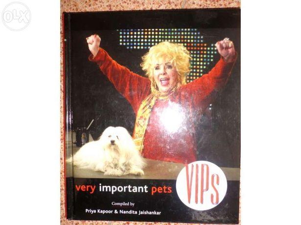 "Livro ""Very important pets"""
