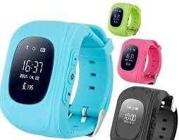 Детские умные смарт-часы Q50 с GPS трекером Синий ,зеленый