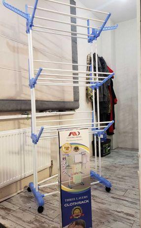 Вертикальная высокая сушилка для вещей одежды Сушка для белья Качество