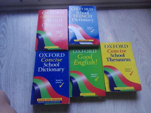 zestaw słowników OXFORD angielsko - angielskich do matury z angielskie