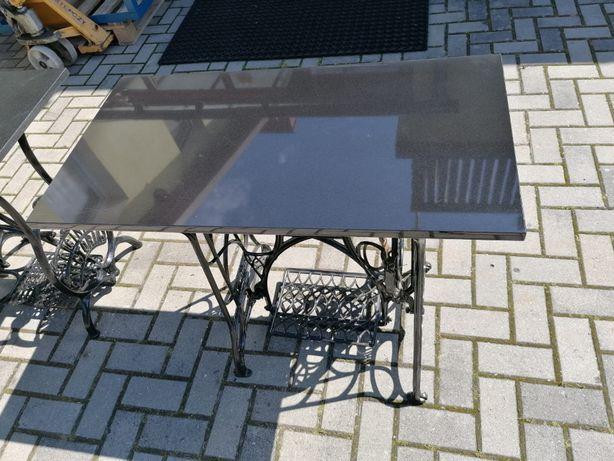 Stół, granit na bazie maszyny do szycia