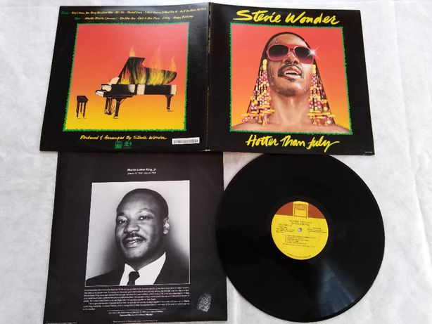Stevie Wonder-Hotter Than July-LP-USA-1980.