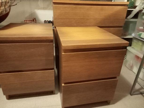 Mobília completa de quarto IKEA - MALM