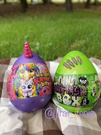 Яйцо-сюрприз для девочки или для мальчика unikorn surprise box, sur