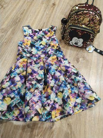 Милое платье для девочки на 7-8лет