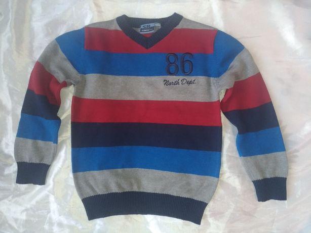 Swetry chłopięce 104-110 cm