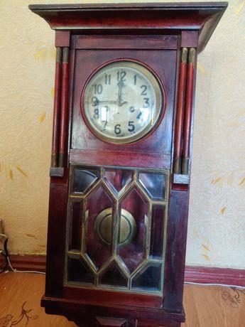 Часы Gustav Becker настенные с боем