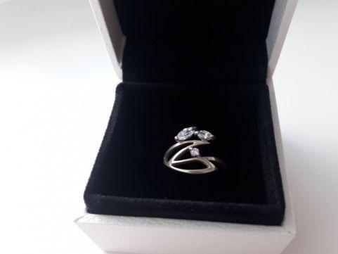 Серебрянное кольцо, колечко