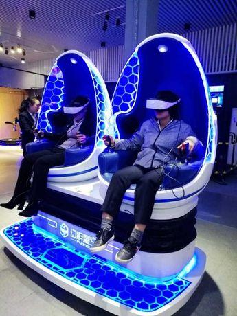 Simulador de Realidade Virtual 9D com mais de 100 jogos faturação alta