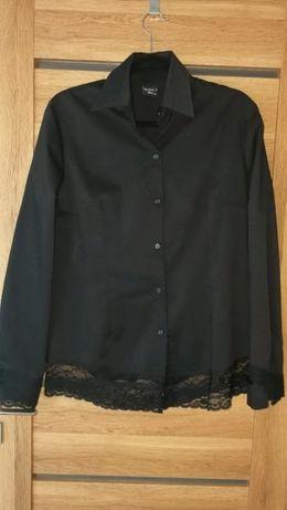 Koszula czarna z koronką By o la la M