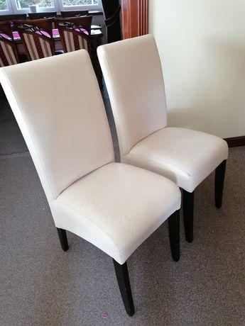Krzesło do jadalni salonu wygodne solidne