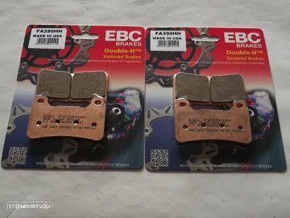 2 jogos Pastilhas Travao Frente Suzuki GSX 1300 R Hayabusa de 2008 a 2012