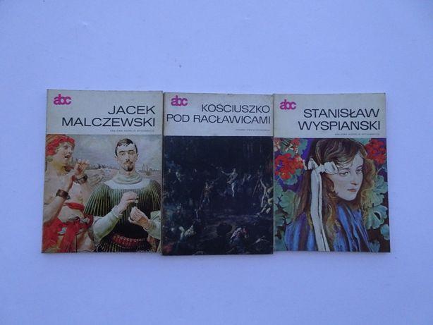 ABC Stanisław Wyspiański, Jacek Malczewski, Kościuszko pod Racławicami