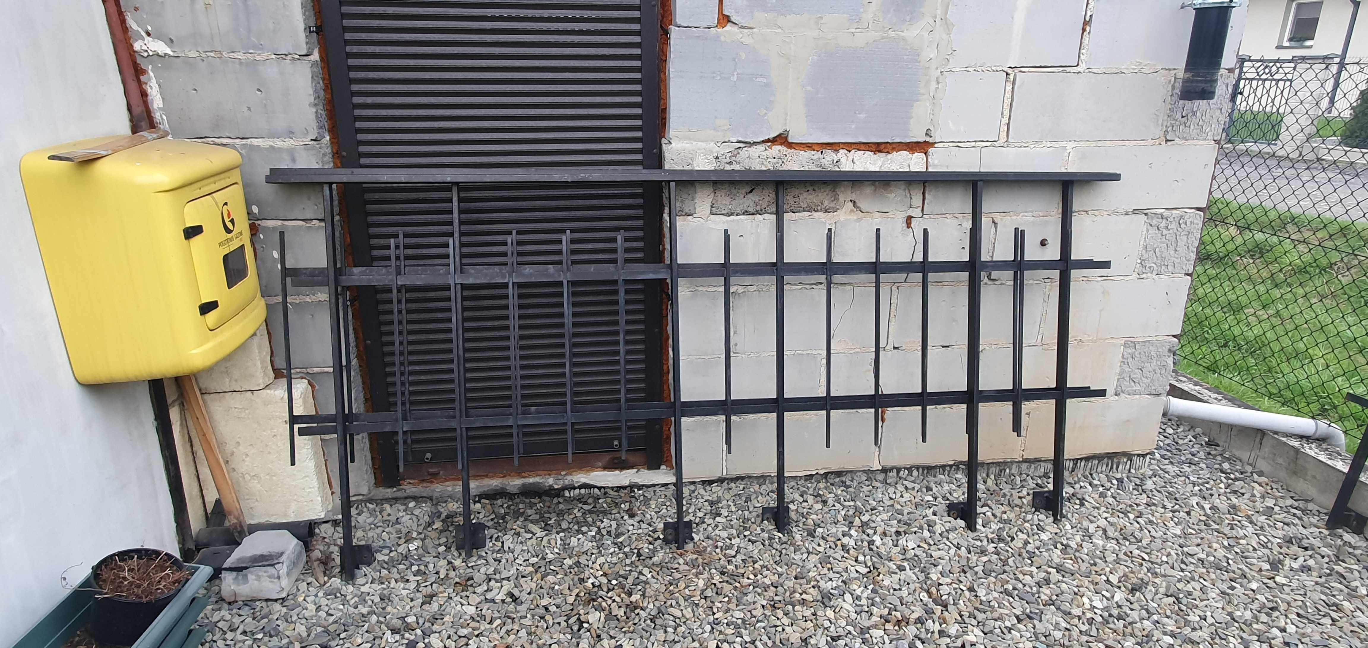 Przęsła metalowe balkonowe