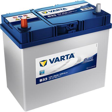Akumulator VARTA Blue Dynamic B33 45Ah 330A JL+