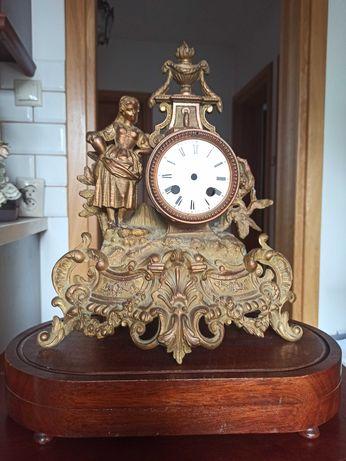 Zegar Francja obudowa XIX w.