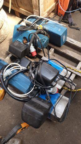 wciągarka łańcuchowa demag abus wózek suwnica wyciąg 100 kg sterowanie